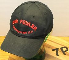 NICE DWK FOWLER CONSTRUCTION GRAND COULEE WASHINGTON HAT BLACK ADJUSTABLE VGC