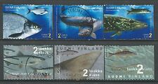˳˳ ҉ ˳˳FI03 Finland Fishes - 6 different period 1998-2003 recent