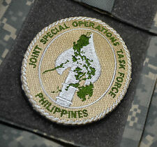 JOINT SPECIAL OPERATIONS TASK FORCE PHILIPPINES JSOTF-P VELCRO INSIGNIA DD PATCH