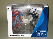 DC Collectibles Injustice: Gods Among Us Superman vs versus Nightwing Figures