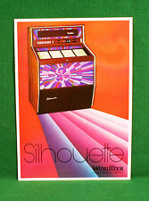 Original Wurlitzer Silhouette Jukebox Brochure