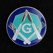 "Masonic ""Knife & Fork Degree"" Lapel Pin (KF-1)"
