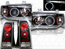 04-06 SCION XB BLACK HALO PROJECTOR HEADLIGHTS + JDM BLK HEADLIGHTS