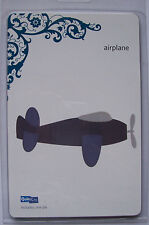 """QuicKutz AIRPLANE REV-0109 Aircraft Holiday Travel Transport 1 Single Die 4"""""""
