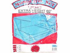 ZIKA MOSQUITO PROTECTION NET BED CANOPY FOUR POST QUEEN MESH HARDWARE INCLUDED