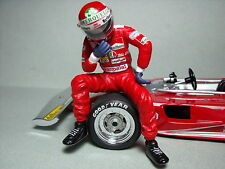 NIKI  LAUDA  1/18  UNPAINTED  FIGURE  MADE  BY  VROOM  FOR  EXOTO  MINICHAMPS