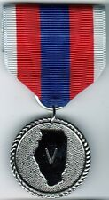 Illinois National Guard State Service Valor Medal Army Air Force