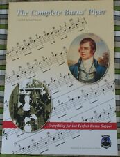 The Complete Burns Piper Music Book Highland Bagpipe Tunes pipes night supper