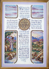 """Sandy Orton """"The Lord Is My Shepherd"""" Counted Cross Stitch Pattern"""
