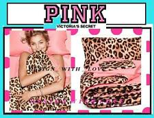 Victoria's Secret Pink Leopard REVERSIBLE Bed in a Bag Comforter Sheet Set  TWIN