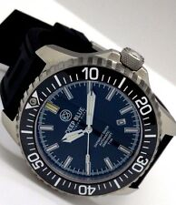 New Deep Blue Hydro 91 Black Ceramic Bezel Automatic T100 Tritium Mens Watch