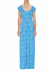 Rachel Pally Milla Maxi Dress - Sz XS 'Mineral' Blue Pattern Beautiful & NWT