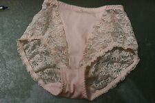 Vintage Triumph Pink and lace panty girdle (Item#509)