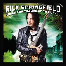 Songs for the End of the World 2012 by Rick Springfield Ex-library