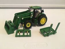 1/64 Custom Farm Toy 6210r Ertl Loader Tractor With Quick Attach