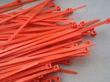 Naranja bridas 203mm X 4.6mm Qty = 50
