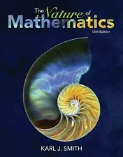BRAND NEW Nature of Mathematics by Karl J. Smith (2016, Hardcover) USA Edition