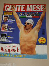 GENTE MESE=2000/10=MAX ROSOLINO=SPECIALE OLIMPIADI VITTORIE AZZURRE=FATTI MESE=