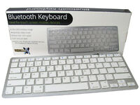 Bluetooth 3.0 Wireless Keyboard for Smartphone PC Tablet Laptop QWERTY English