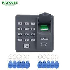 Biometric Fingerprint Door Access Control Password Keypad 125Khz RFID Reader