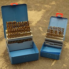 PRESTO 91 PIECE 1MM - 10MM (0.1MM INCREMENTS) HSS -TIN TITANIUM DRILL BIT SET