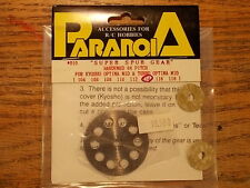 Paranoia Super Spur Gear 64 Pitch 114 Tooth / OT-85 Upgrade - Kyosho Optima Mid