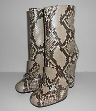Auth GUCCI 'Lillian' Python Ankle Boot #363803 ~ Sz 40 (US 10) ~ $2,250 NIB
