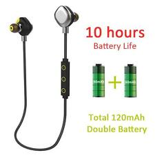 Morul U5 Plus Waterproof Swim Bluetooth Wireless NFC Sport HIFI Headset Earphone