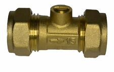 15mm Ballofix Valve - Brass Isolator Valve