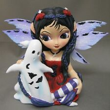 Boo Spoken Here Jasmine Becket Griffith Fairy Figurine - Bewitching Tales