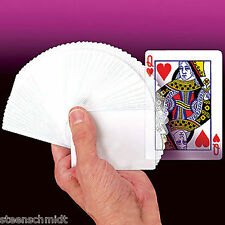 WATCH DEMO Imaginary Blank Deck Poker Cards Magic Close Up Trick + FREE VIDEO!