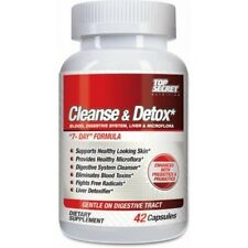 Top Secret Nutrition 4-Way Body Cleanse & Detox, 42 Capsules 7 DAY FORMULA N/R