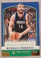 2012-13 PANINI GOLD KNIGHT PARALLEL NIKOLA PEKOVIC TIMERWOLVES #130
