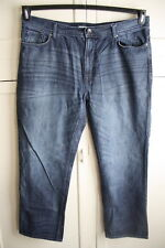 DKNY Jeans Mens Relaxed Fit Jeans Medium Wash 40 X 30