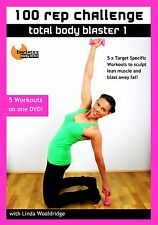 WORKOUT DVD Barlates Body Blitz 100 REP CHALLENGE TOTAL BODY BLAST 1 - 5 Workout