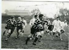 PHOTO d'un match de RUGBY Sport joueurs en action circa 1950