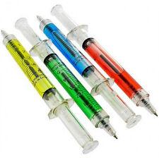 60 Syringe Pens Doctor USA Ship Nurse Medical Dental Bulk Wholesale Black Ink