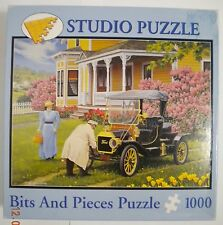 Bits and Pieces John Sloane Out For A Drive Jigsaw Puzzle 1000 Pieces