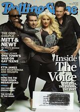 Rolling Stone Magazine - 16 February 2012 - featuring INSIDE THE VOICE