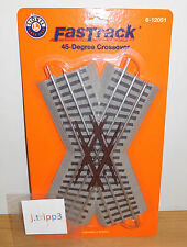 LIONEL 6-12051 45 DEGREE CROSSING CROSSOVER TRAIN FASTRACK FAST TRACK O GAUGE