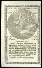 santino incisione 1600 S.PACOMIO AB. DI TABENNISI