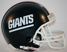 RIDDELL NEW YORK GIANTS (1981-99) Mini Throwback Helmet