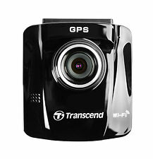 """Transcend 16GB DrivePro DP220 Car Video Recorder Built-In Wi-Fi GPS 2.4"""" LCD"""