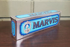 Marvis Toothpaste - Aquatic Mint 3.8oz / 75mL - NEW IN BOX & FRESH! Free Ship!