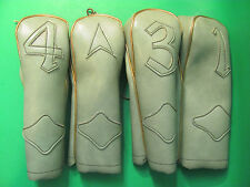 Vintage Golf Club Head Covers Green Color