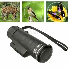 40X60 HandHeld Focus Zoom Travelling HD Optics Lens BK4 Monocular Telescope new