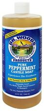 Dr. Woods - All Natural Eco-Friendly Castile Soap Pure Peppermint - 32 oz.