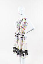 """Oscar de la Renta NWT $5329 Multicolor Silk Floral Print """"Marigoold"""" Dress SZ 6"""