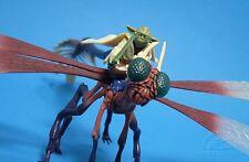 Star Wars Jedi Maestro Yoda Deluxe putrefacciones suelto en volar a la batalla en puede celda.C-10