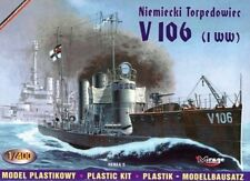 GERMAN TORPEDO BOAT V 106 (KAISERLICHE MARINE MARKINGS) 1/400 MIRAGE